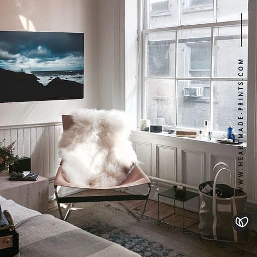 Atemberaubende Küstenlandschaft aus Island als Wandbildaus dem HEARTMADE Shop