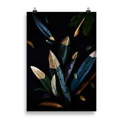 Fineart-Print Golden Leaves