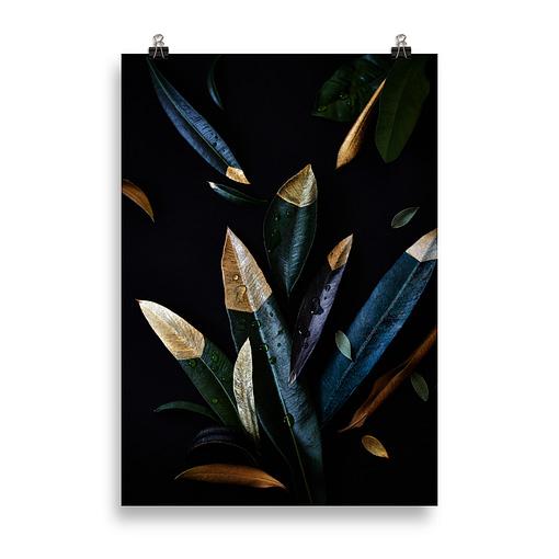 Fineart-Print Golden Leaves